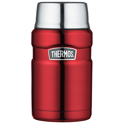Thermos Food Flask, Red