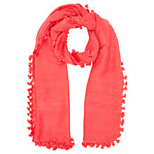 Buy Jigsaw Pom Pom Scarf Online at johnlewis.com