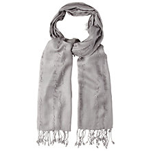 Buy White Stuff Freya Plain Scarf, Feather Grey Online at johnlewis.com