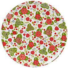 Buy Julie Dodsworth Strawberry Small Plate Online at johnlewis.com