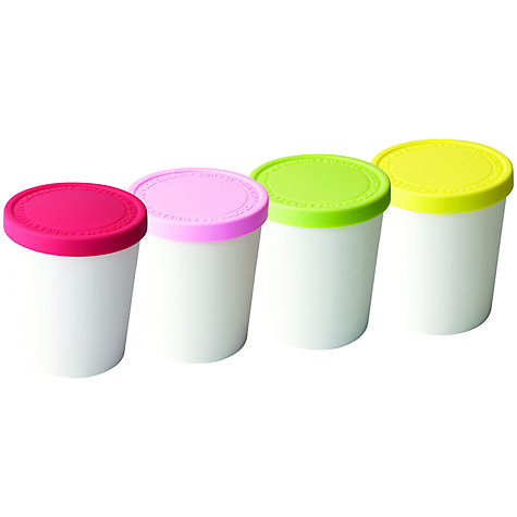 Buy Eddingtons Ice Cream Tubs, Set of 4 Online at johnlewis.com