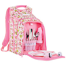 Buy Julie Dodsworth Floral Picnic Backpack, 2 Persons Online at johnlewis.com