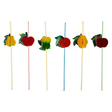 Buy John Lewis Fruit Straws, Pack of 12 Online at johnlewis.com