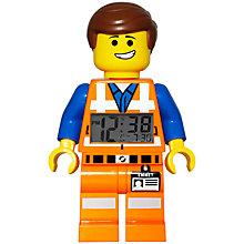 Buy The LEGO Movie Emmet Clock Online at johnlewis.com