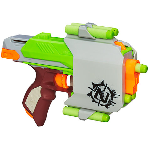 Buy Nerf Zombie Strike Sidestrike Blaster Online at johnlewis.com
