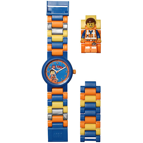 Buy The LEGO Movie Emmett Watch Online at johnlewis.com