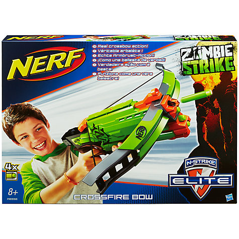 Buy Nerf Zombie Strike Crossfire Bow Online at johnlewis.com