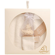 Buy Cuddledry Baby Gift Set, Coffee Online at johnlewis.com