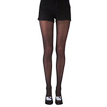 Buy Pretty Polly Hello Kitty Foot Tights, Black Online at johnlewis.com