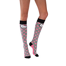 Buy Pretty Polly Hello Kitty Spot Knee High Socks, Multi Online at johnlewis.com
