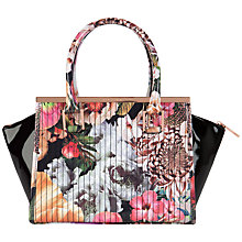 Buy Ted Baker Haillie Tote Bag, Floral Online at johnlewis.com