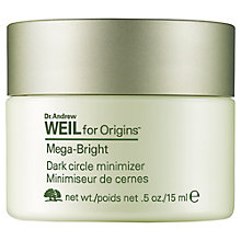 Buy Dr. Weil Mega Bright Dark Circle Minimizer, 15ml Online at johnlewis.com