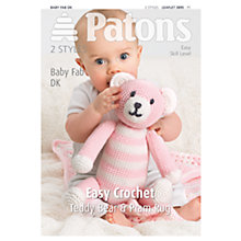 Buy Patons Baby Fab DK Crochet Leaflet, 3895 Online at johnlewis.com