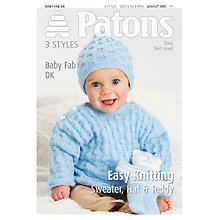 Buy Patons Baby Fab DK Leaflet, 3901 Online at johnlewis.com