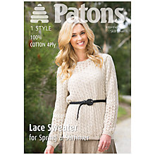 Buy Patons Cotton 4 Ply Leaflet, 3887 Online at johnlewis.com