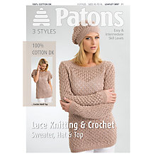 Buy Patons Cotton DK Leaflet, 3897 Online at johnlewis.com