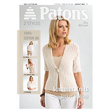 Buy Patons Cotton DK Summer Knits Online at johnlewis.com