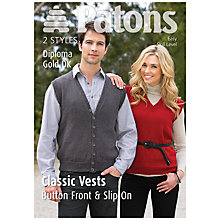 Buy Patons Diploma Gold DK Leaflet, 3888 Online at johnlewis.com