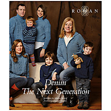Buy Denim: The Next Generation, Knitting Pattern Booklet Online at johnlewis.com