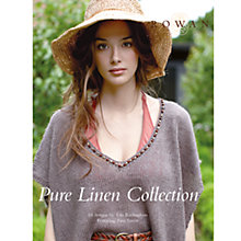 Buy Rowan Pure Linen Collection Knitting Book Online at johnlewis.com