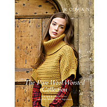 Buy Rowan The Pure Wool Worsted Collection Knitting Booklet Online at johnlewis.com