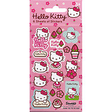 Buy Paper Projects Hello Kitty Stickers Online at johnlewis.com