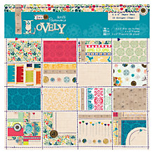 "Buy Docrafts Sew Lovely 6 x 6"" Decorative Paper Pack Online at johnlewis.com"