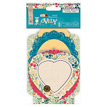 Buy Docrafts Sew Lovely Die-Cut Notelets Online at johnlewis.com