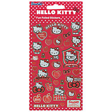 Buy Hello Kitty Fun Foiled Stickers Online at johnlewis.com