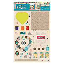 Buy Docrafts Sew Lovely Decoupage Medley, Sewing Online at johnlewis.com