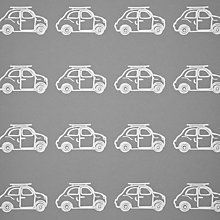 Buy little home at John Lewis Here, There & Everywhere Vehicle Stencil Wallpaper Online at johnlewis.com