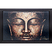 Buy Gallery One, James Dominé - Meditation Signed Limited Edition Framed Print on Canvas, 60 x 90cm Online at johnlewis.com