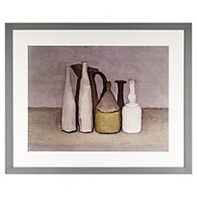 Buy John Lewis Croft Collection, Giorgio Morandi - Natura Morta 1 1952 Framed Print, 45 x 55cm Online at johnlewis.com