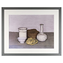Buy John Lewis Croft Collection, Giorgio Morandi - Natura Morta 1952 Framed Print, 45 x 55cm Online at johnlewis.com