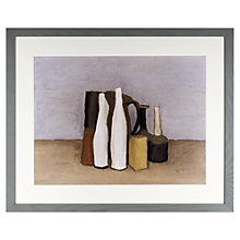 Buy John Lewis Croft Collection, Giorgio Morandi - Still Life 1952 Framed Print, 45 x 55cm Online at johnlewis.com