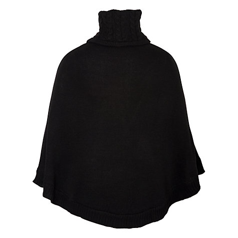 Buy Chesca Buckle Detailed Poncho Online at johnlewis.com