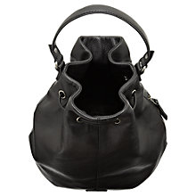 Buy Jigsaw Vancouver Duffle Handbag, Black Online at johnlewis.com
