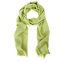 Buy Coast Connie Scarf, Chartreuse Online at johnlewis.com