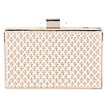 Buy Coast Perla Clutch, Pearl Online at johnlewis.com