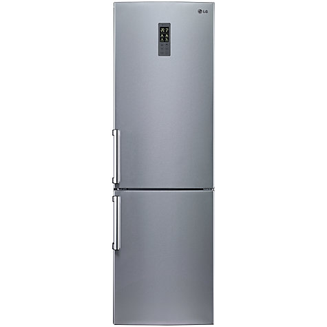 Buy LG GBB539PVQWB Fridge Freezer, A+ Energy Rating, 60cm Wide, Platinum Silver Online at johnlewis.com