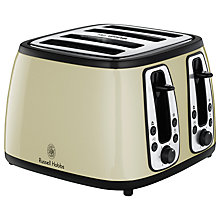 Buy Russell Hobbs Heritage 4-Slice Toaster Online at johnlewis.com