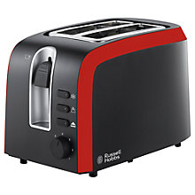 Buy Russell Hobbs Desire 2-Slice Toaster, Black Online at johnlewis.com