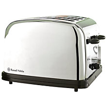 Buy Russell Hobbs Classic 4-Slice Toaster, Polished Stainless Steel Online at johnlewis.com