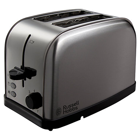 Buy Russell Hobbs Futura 2-Slice Toaster, Silver Online at johnlewis.com