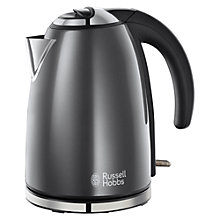 Buy Russell Hobbs Colours Kettle and 2-Slice Toaster, Grey Online at johnlewis.com