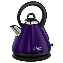 Buy Russell Hobbs Heritage Kettle and 2-Slice Toaster, Metallic Purple Online at johnlewis.com