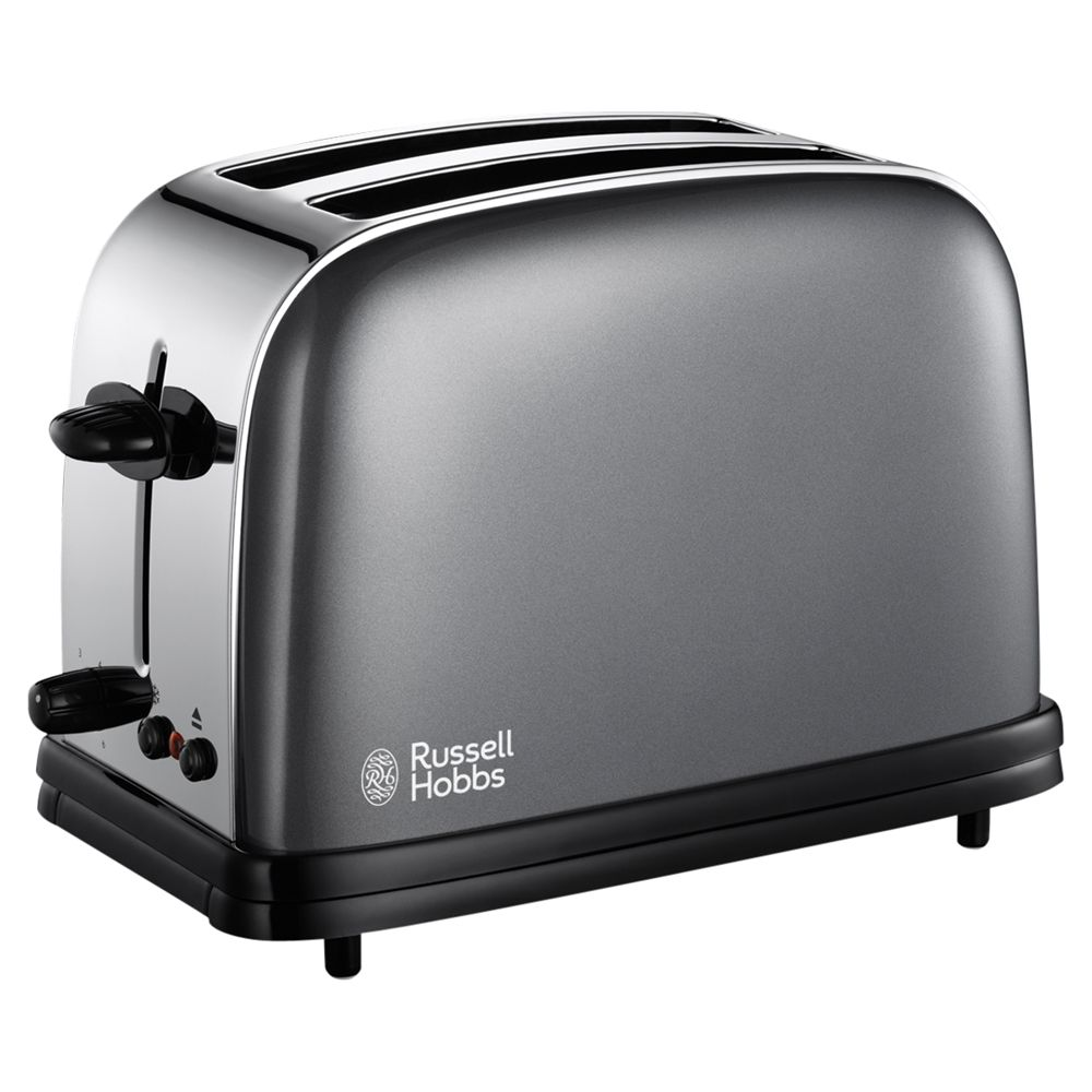 18954 2 slice Toaster - Storm Grey