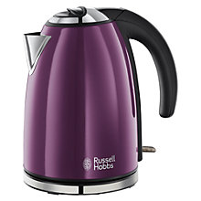 Buy Russell Hobbs Colours Kettle and 2-Slice Toaster, Purple Online at johnlewis.com