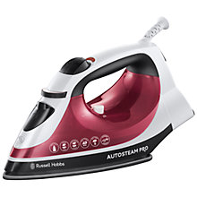 Buy Russell Hobbs 18680 Auto Steam Pro Iron Online at johnlewis.com