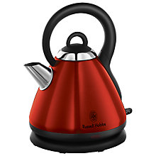 Buy Russell Hobbs Heritage Kettle and 4-Slice Toaster, Metallic Red Online at johnlewis.com